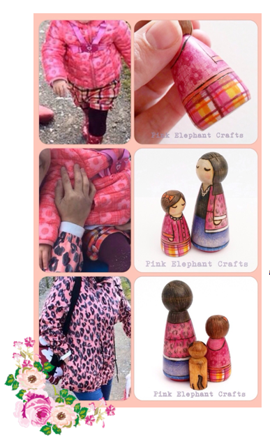 personalised peg dolls