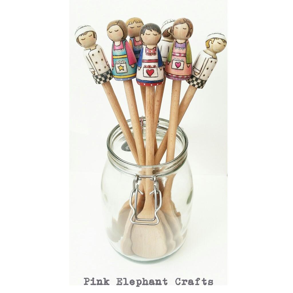 Peg Doll Spoon