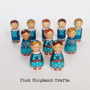 peg dolls elves