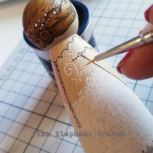 bride groom wedding cake topper peg doll wooden doll peg dolls