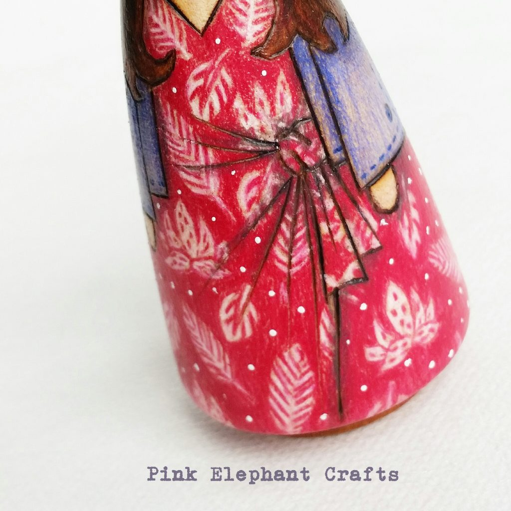 Peg doll for mothers day