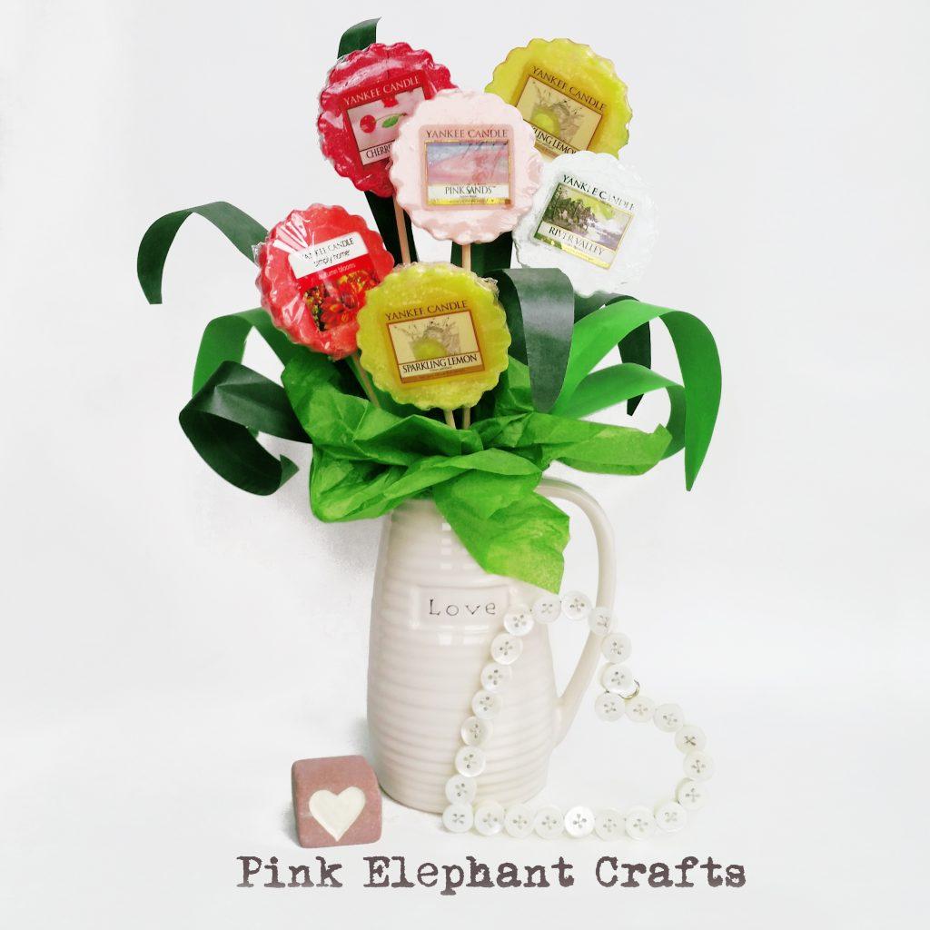 DIY wax melt bouquet tutorial