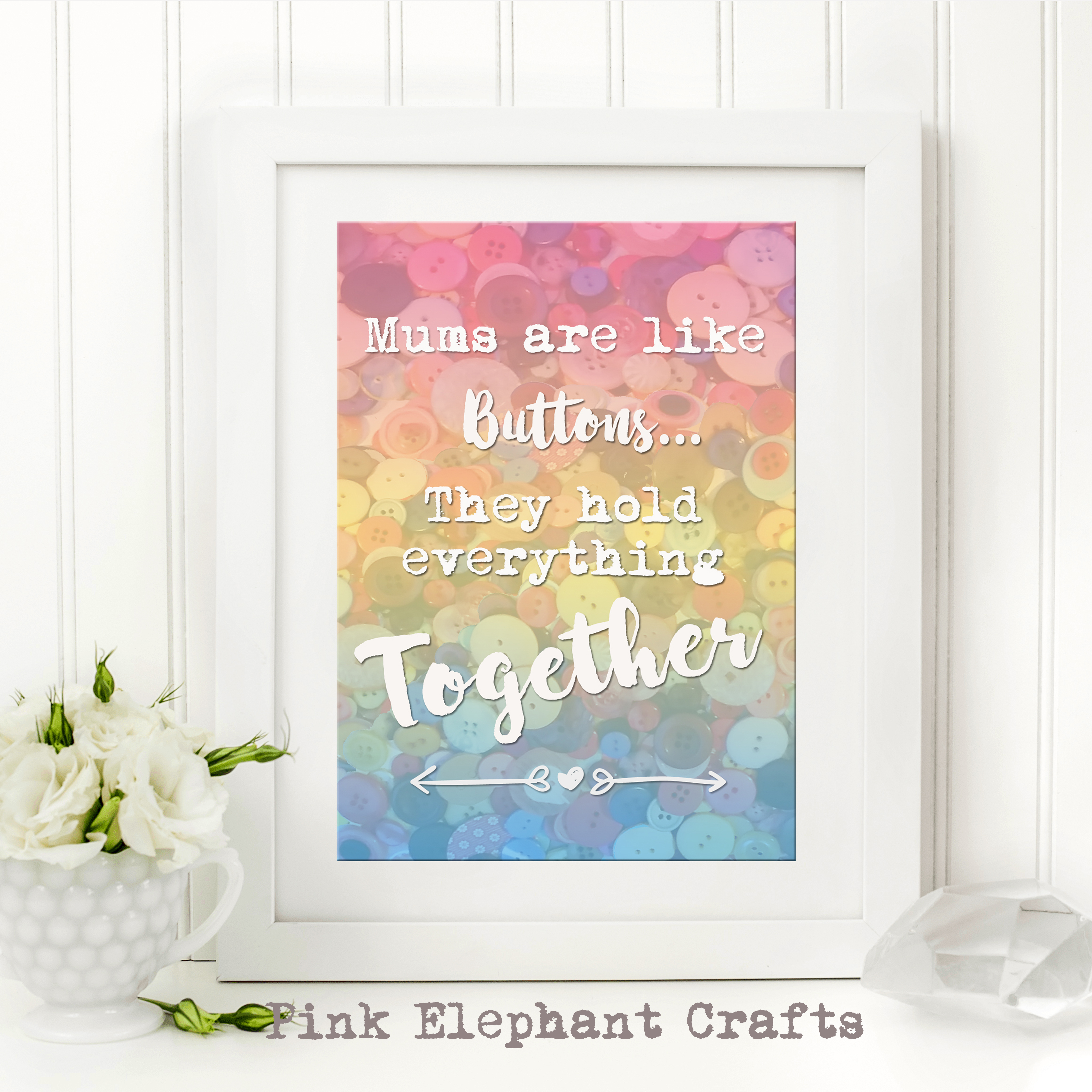 free mothers day printable for framing or cards