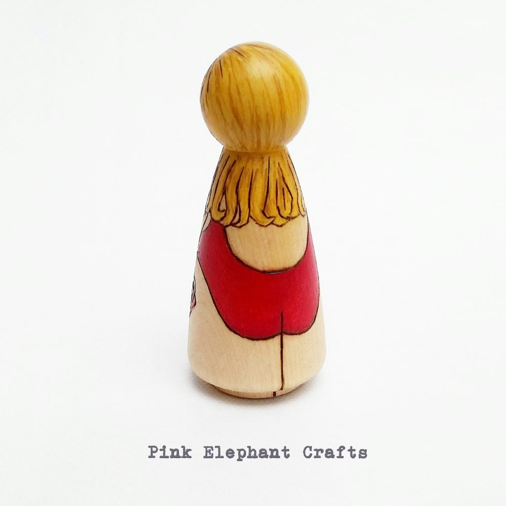 novelty lifeguard peg doll