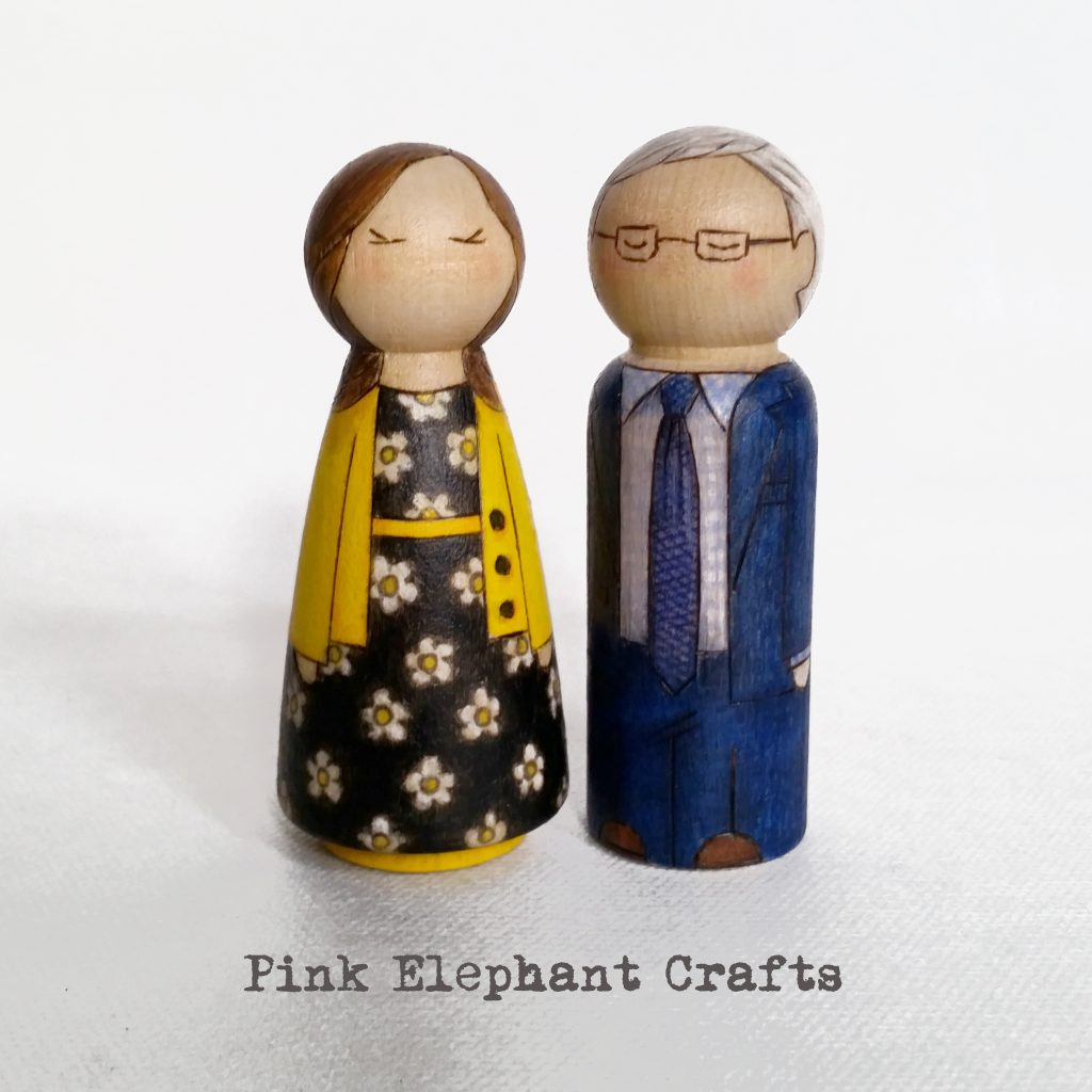 grandparents day peg dolls