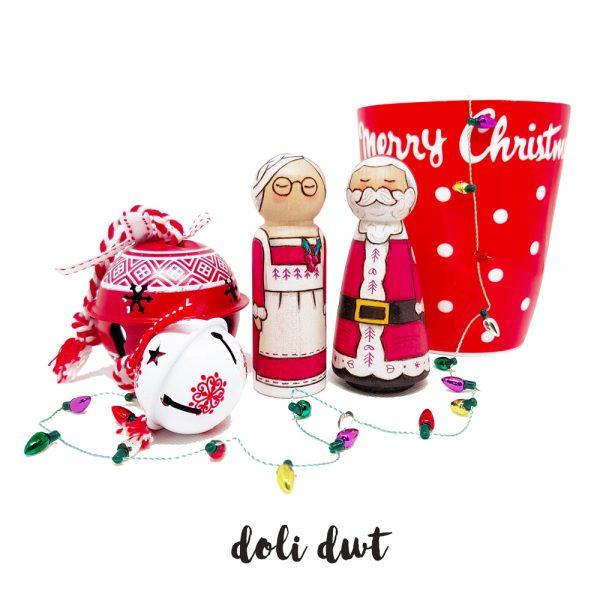 santa, mrs claus, handmade christmas gifts
