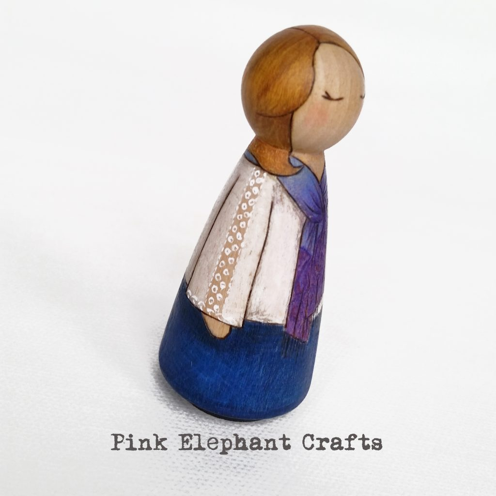 Personalised peg doll