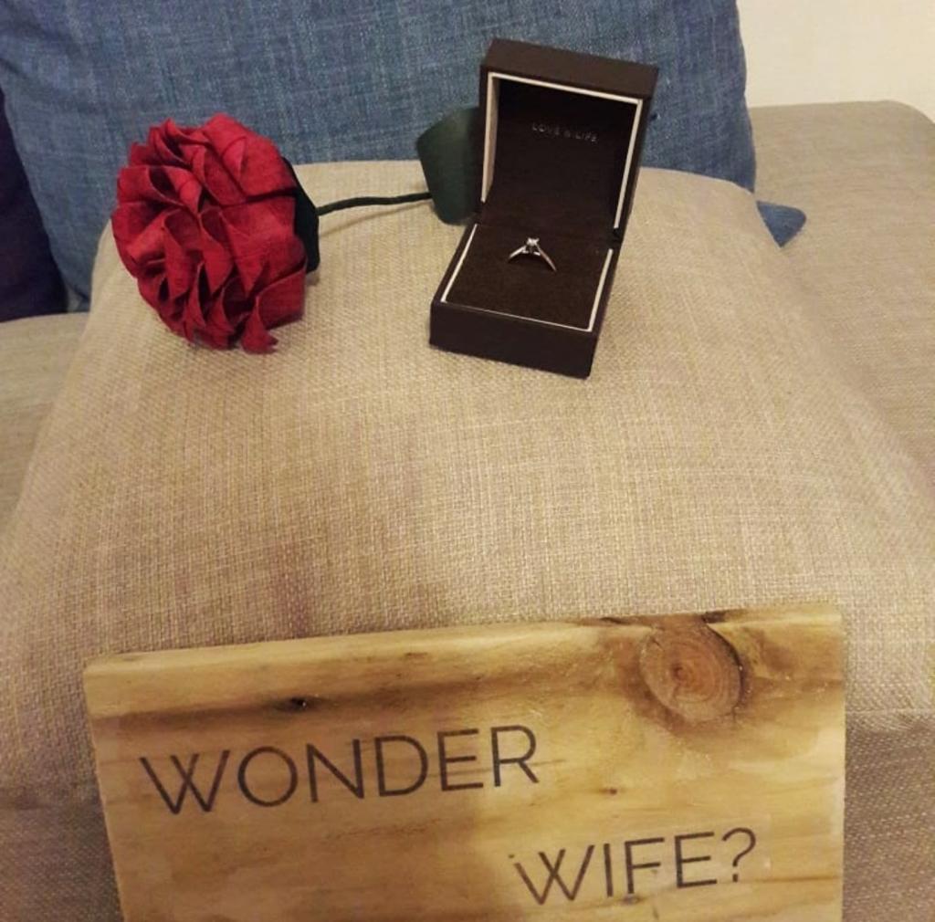 wonder mum, wonderwoman, mothersday, proposal, personalised peg doll