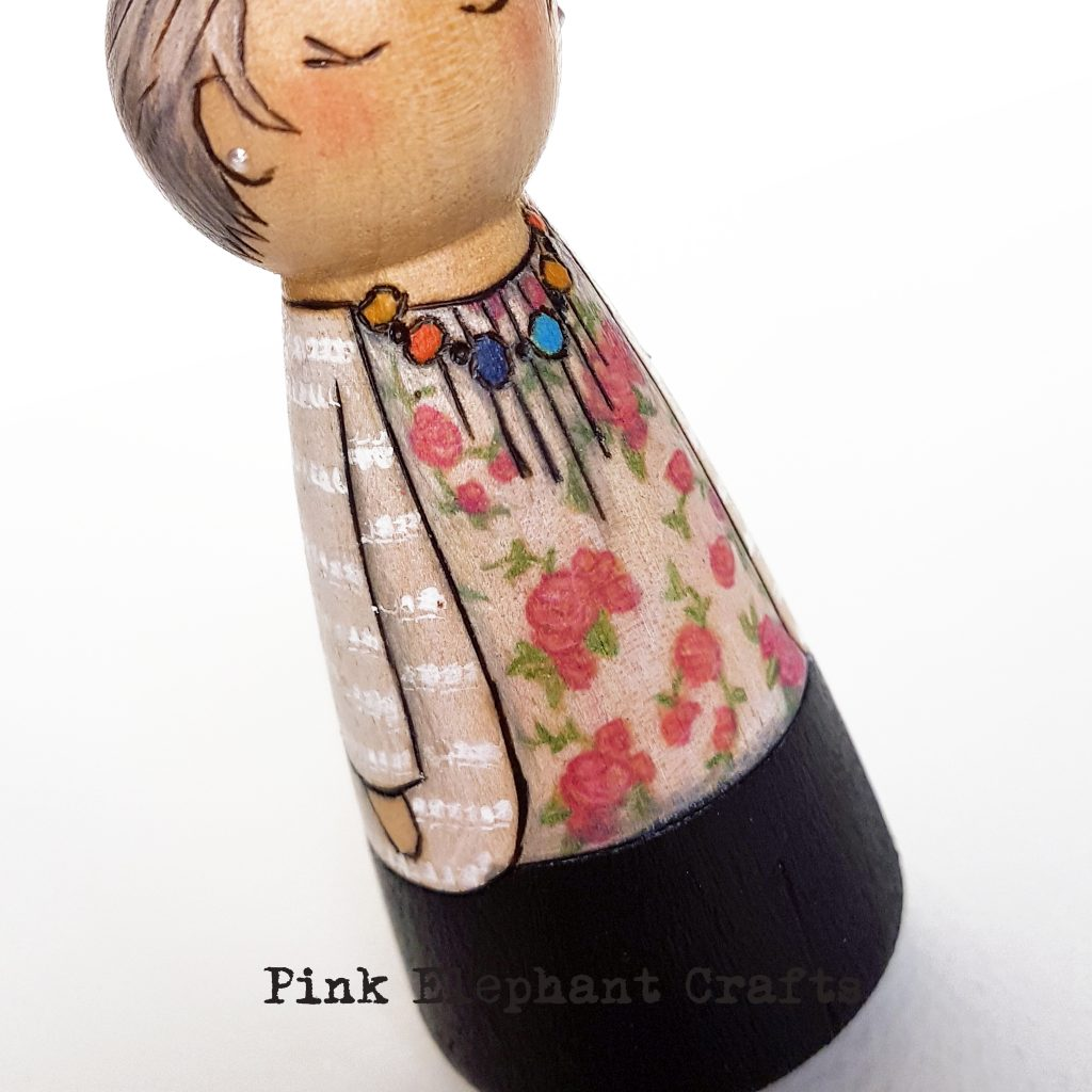 personalised peg doll, parents, peg doll set, handmade gifts, one of a kind gift