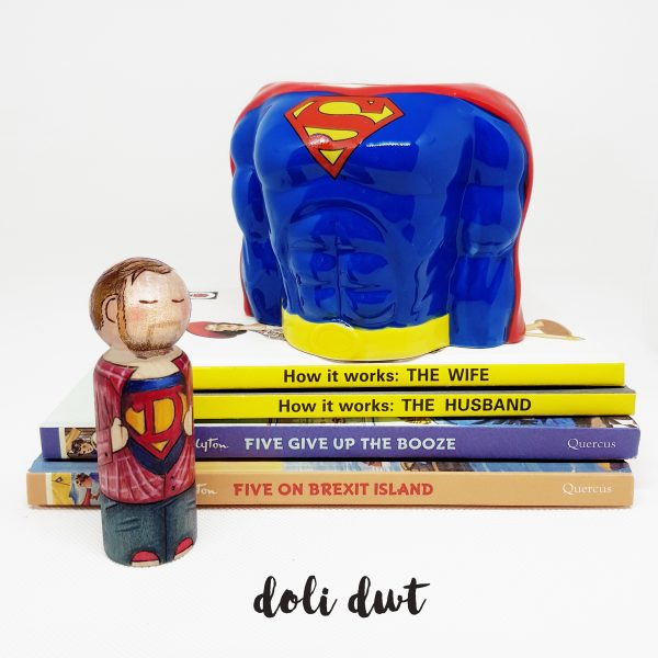 when is Father's Day this year, fathers day gift, gifts for dad, gifts for him, gift for husband, anniversary gift, wedding gift, superhero gifts, personalised peg doll