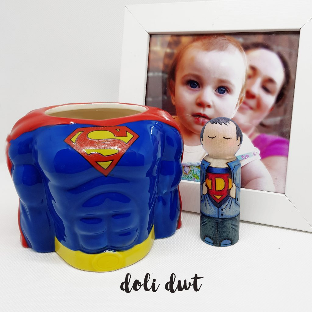 when is Father's Day this year, fathers day gift, gifts for dad, gifts for him, gift for husband, anniversary gift, wedding gift, superhero gifts, personalised peg doll, fathers day ideas