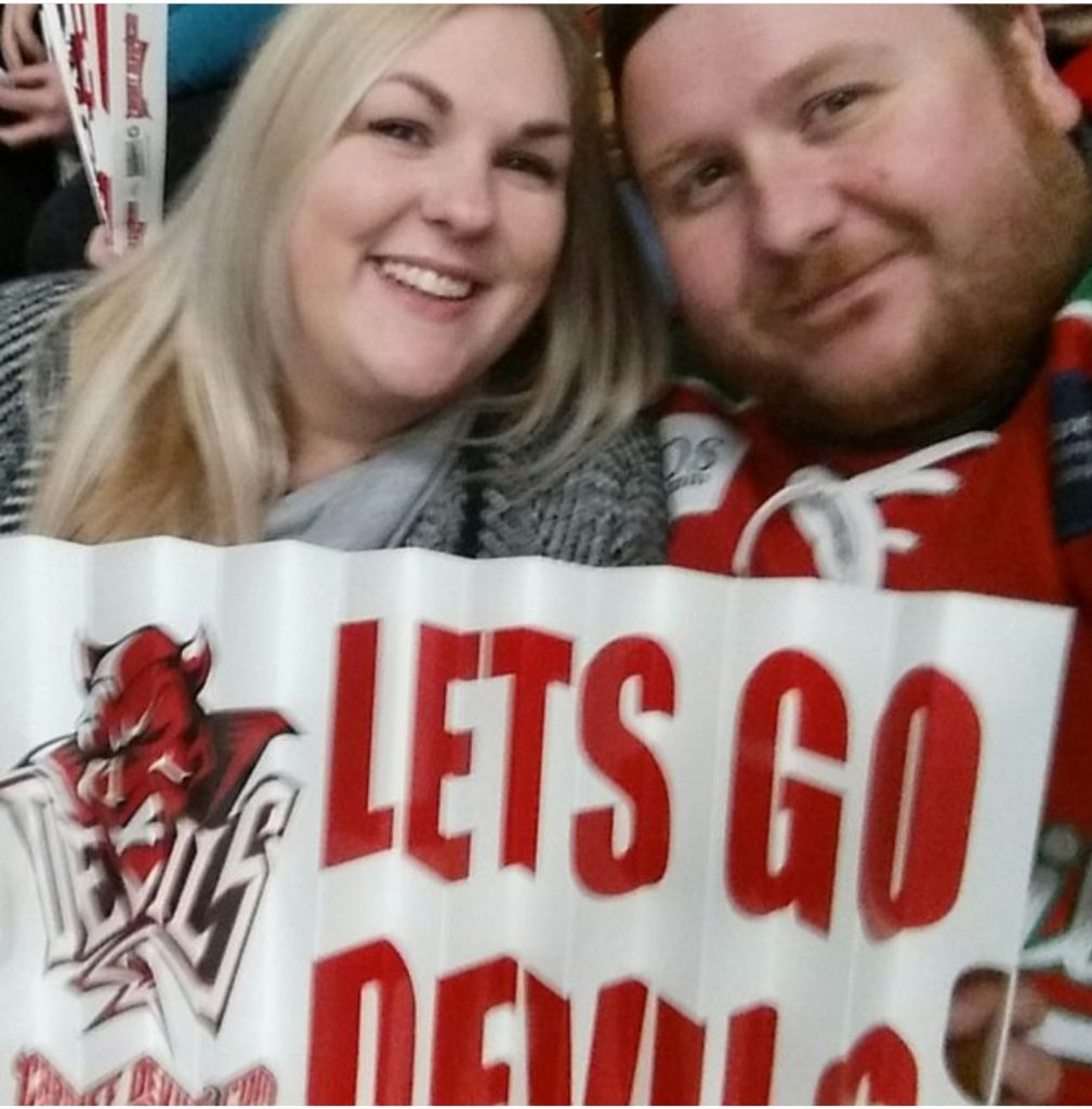 chl, red devils, red devils fans, lets go devils, ice hockey, peg dolls