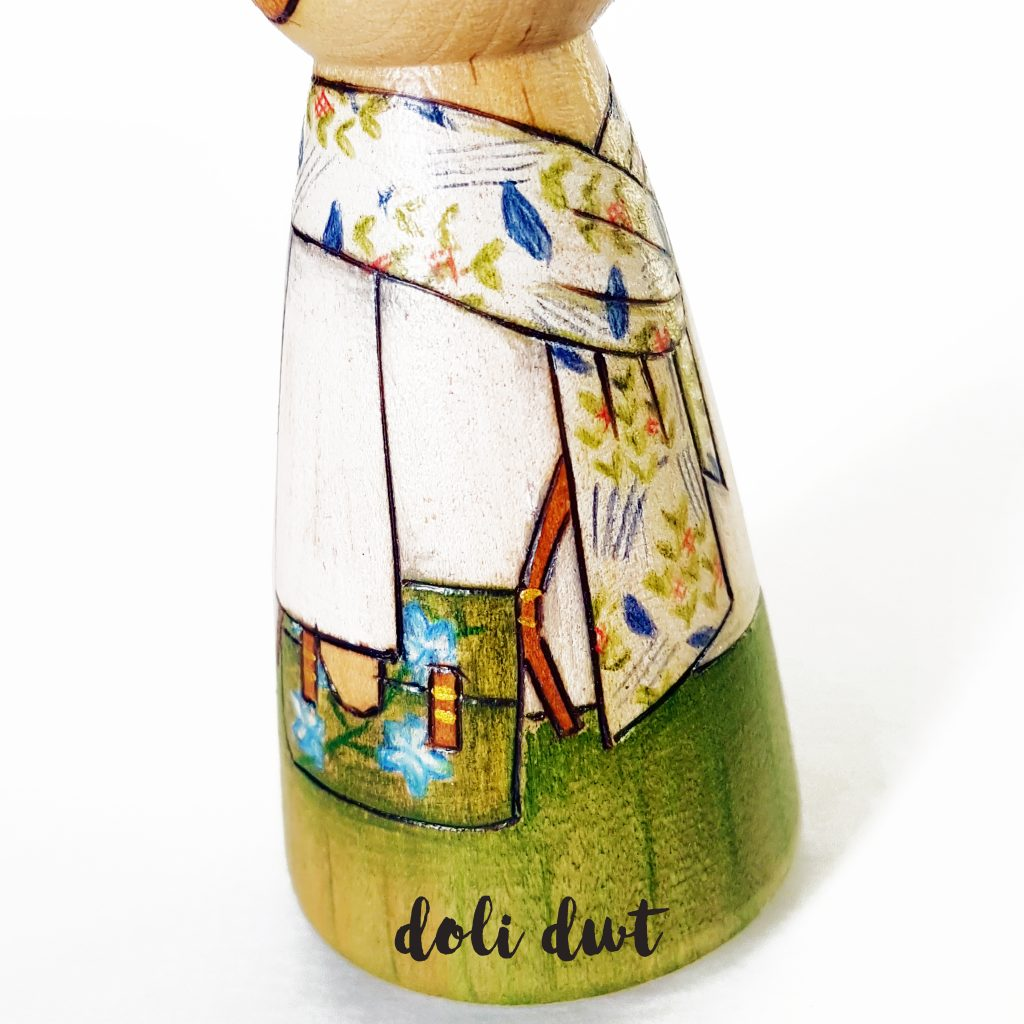 peg doll, peg dolls, personalised peg dolls, peg doll family, personalised gifts, fishing gift
