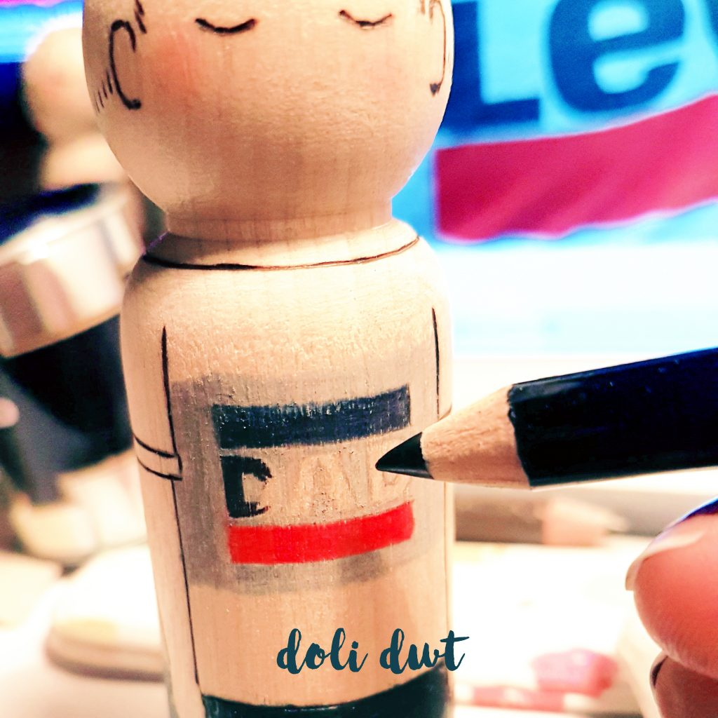 Dad peg doll, new baby gifts, peg doll family, personalised peg doll, dad to be, parents to be