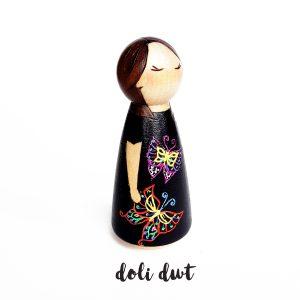 peg doll lady, mum peg doll, peg dolls, peg dolls uk, peg doll family, personalised gift, personalised peg dolls, custom peg dolls