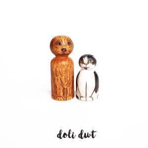 pet peg dolls, animal lover gift, cat lover gift, dog lover gift, peg dolls, peg dolls uk, peg doll family, personalised gift, personalised peg dolls, custom peg dolls
