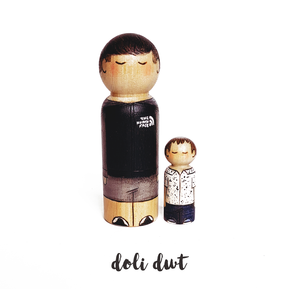 peg dolls, personalised peg dolls, unique gifts, wedding cake toppers, personalised gift