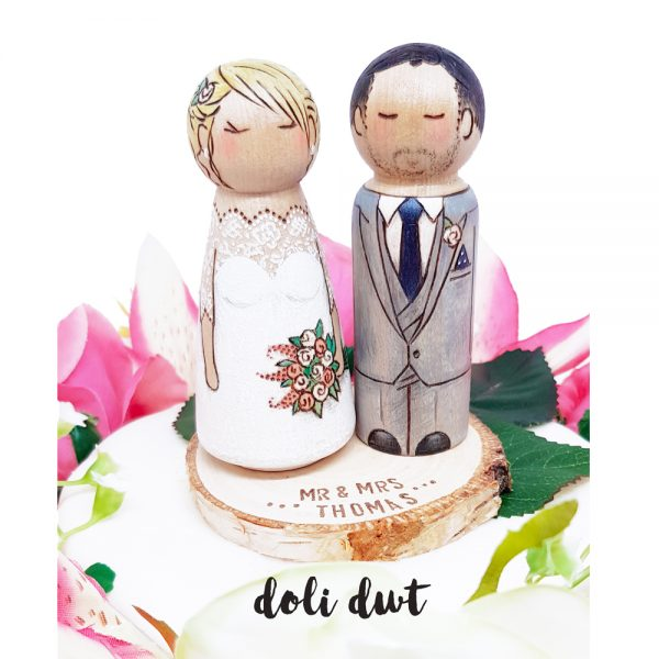 wood slice, rustic wood slice, wedding cake wood slice, wedding cake topper