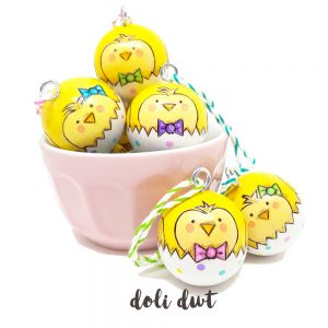 Alternative Unique Easter gifts, easter chicks, easter decorations
