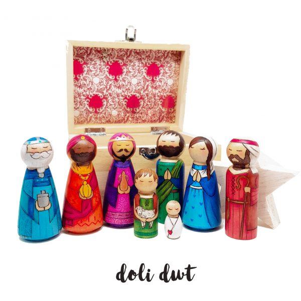 Nativity Peg Dolls