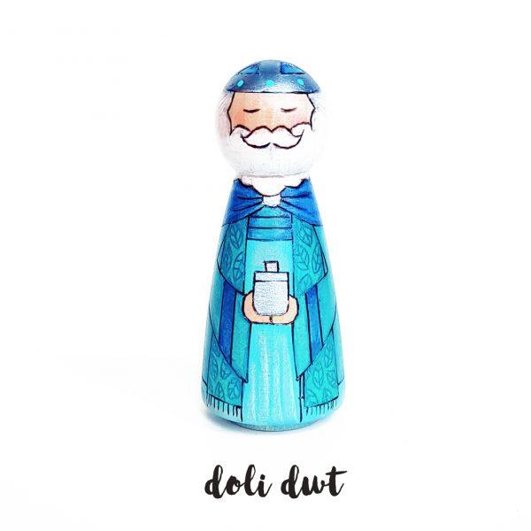 anrhegion nadolig, nativity peg doll, anrhegion cymraeg, three kings, wise men, nativity, nativity peg dolls, peg dolls, doli dwt